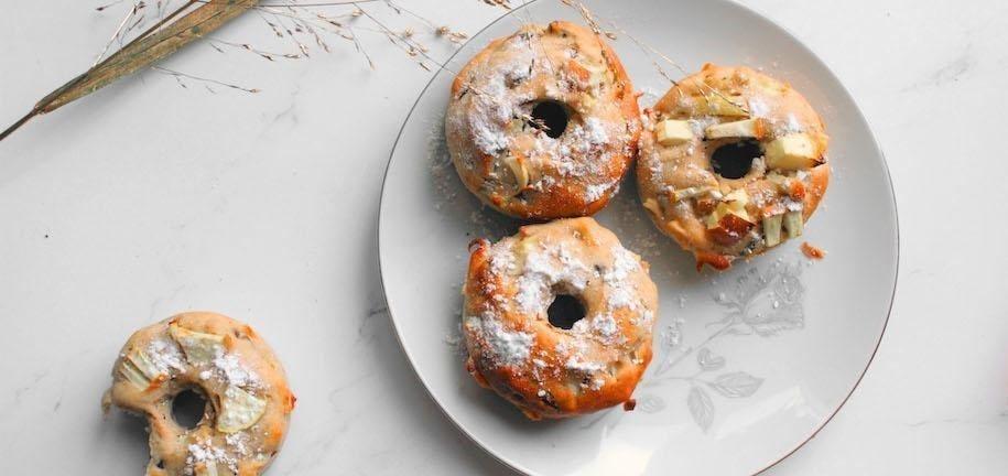 Apple Donut Recipe + Lockdown Tips