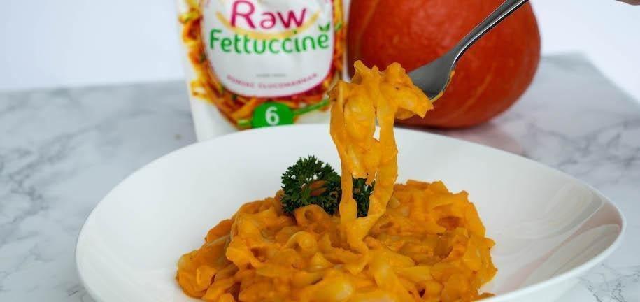Vegan & Gluten Free Pumpkin Alfredo: The Best Autumn Foods