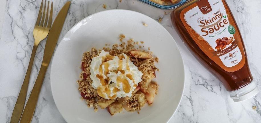 Healthy Apple Crumble Recipe