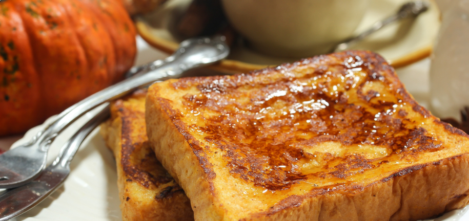 Low Carb Pumpkin French Toast