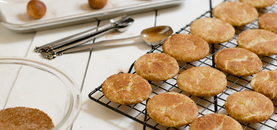 Brown Butter Salted Snickerdoodle