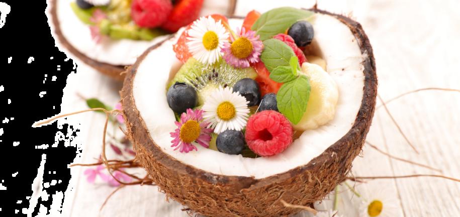Sunset Fruit Salad