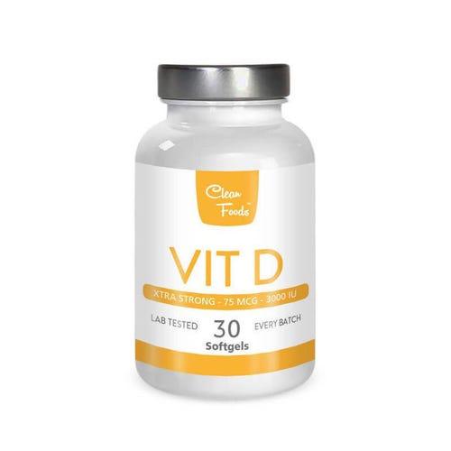 Vitamin D3 3000IU - 30 CAPS