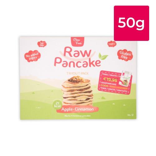 Tryout RawPancake Apple Cinnamon