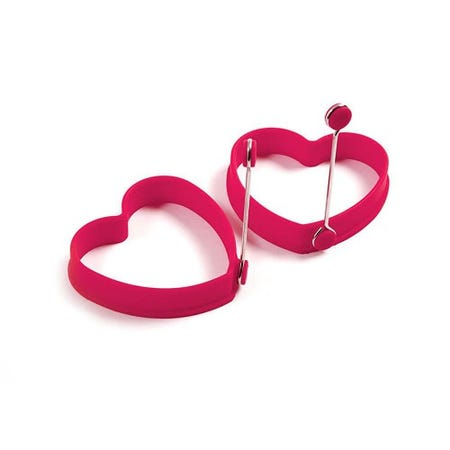 Silicone heart shape